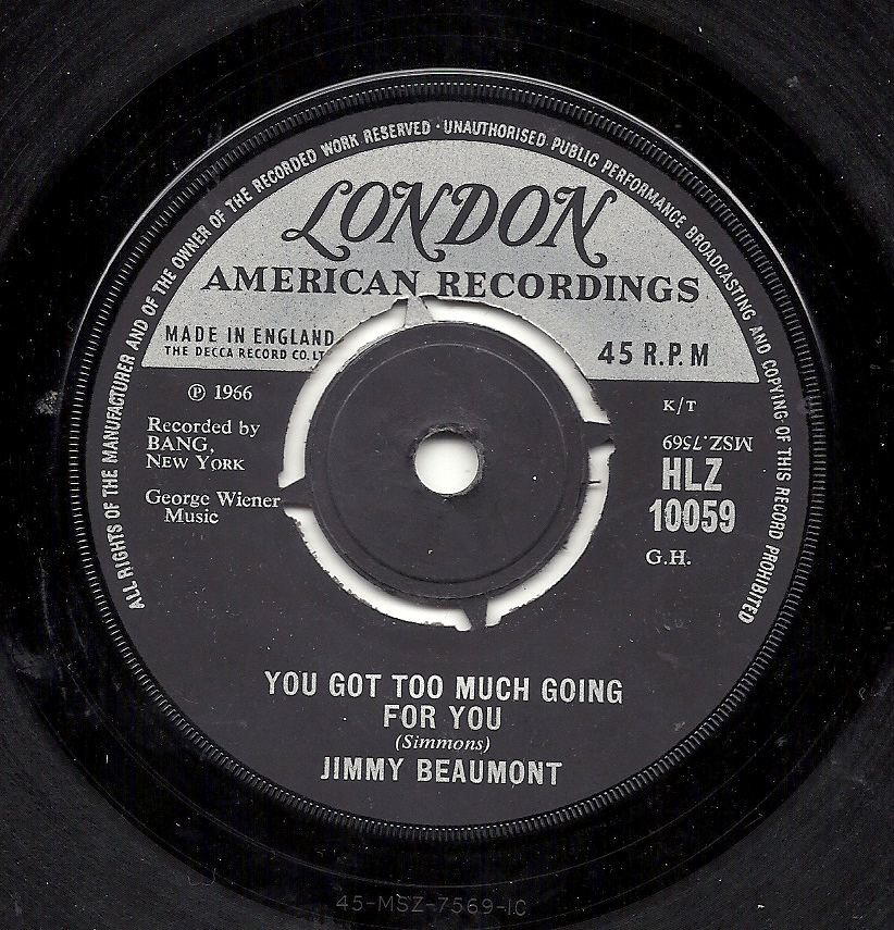 Chapman Records | Northern Soul 45's £100+